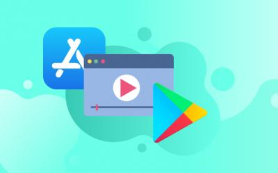 Diferencias para videos de aplicaciones en Google Play y App Store