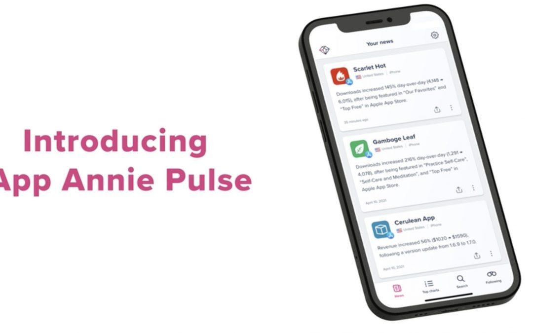 App Annie lanza una nueva aplicación para información valiosa sobre aplicaciones móviles