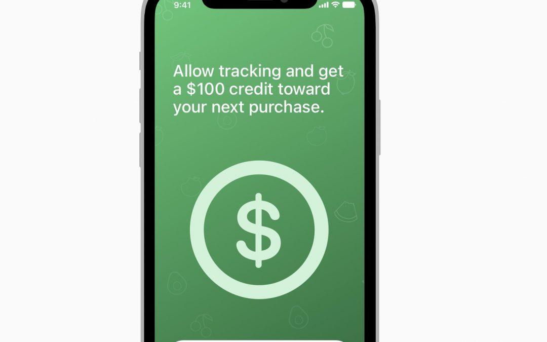 Apple prohibirá las aplicaciones que ofrecen recompensas por permitir el seguimiento