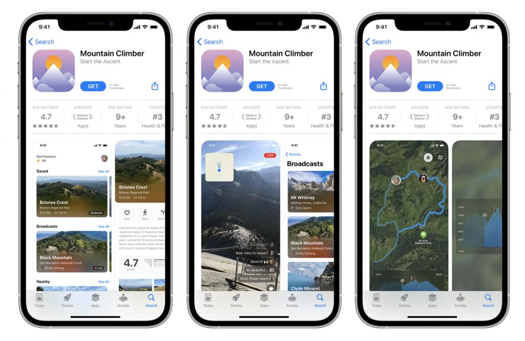 iOS 15 Actualizaciones App Store