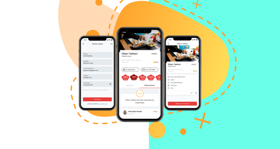 Llega a España Eatify App, la plataforma para reservar mesa en tu restaurante con hasta un 50% de descuento