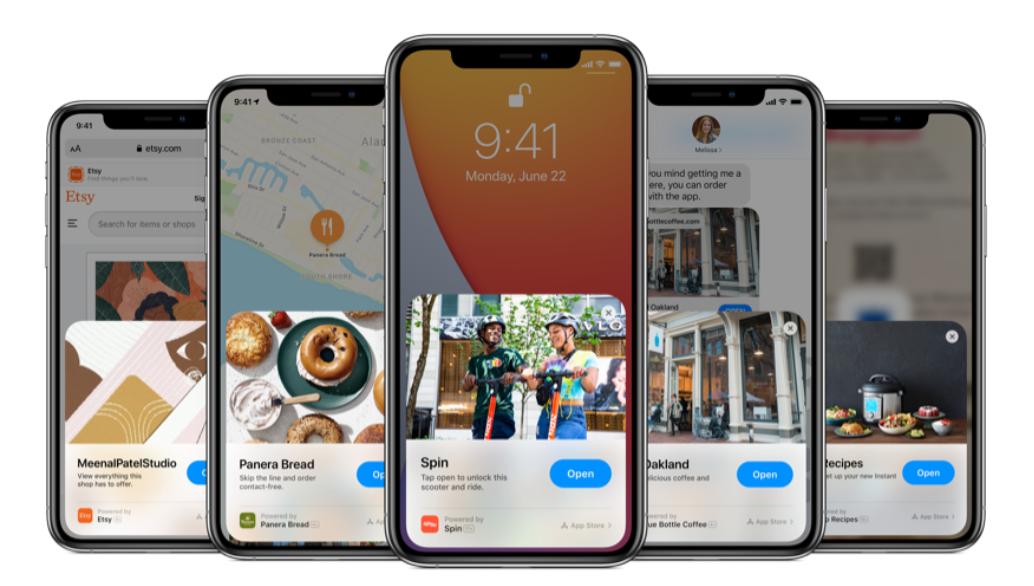 iOS 15 lleva Clip Cards de tamaño completo a los sitios web