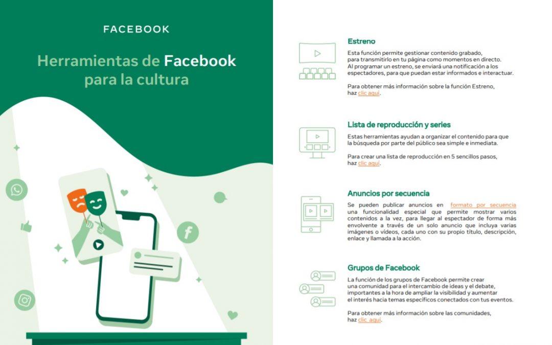 """Facebook lanza """"#ApoyandoANuestraCultura"""", una iniciativa para las pymes culturales y su recuperación económica"""