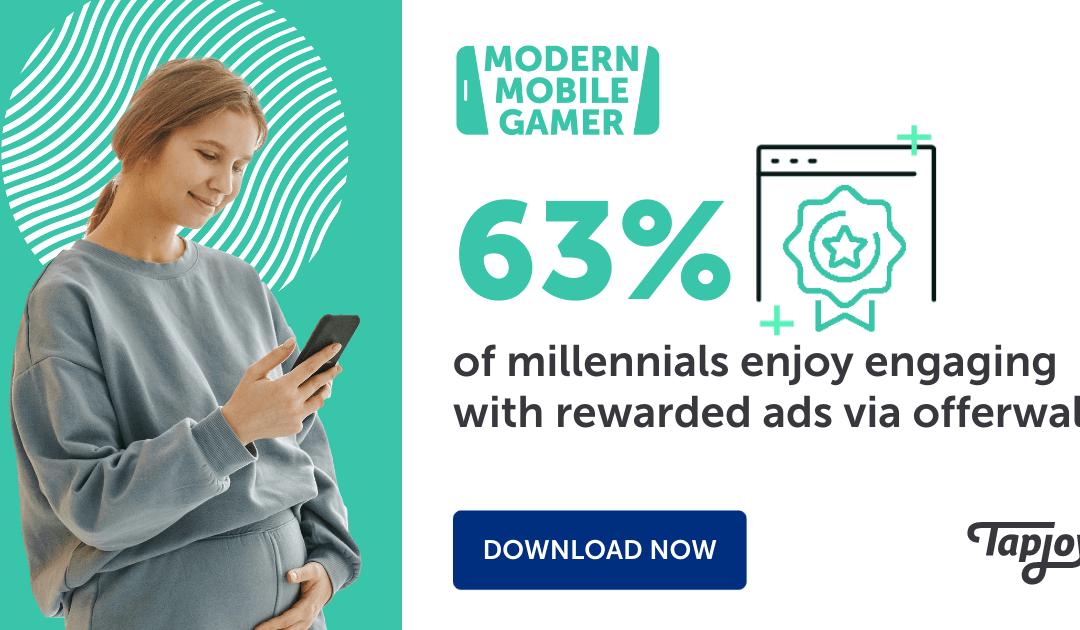 Es más probable que los millennials compren en dispositivos móviles y se involucren con anuncios recompensados
