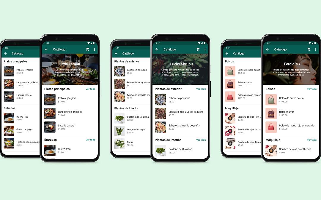 WhatsApp Bussines presenta Colecciones de catálogos para facilitar la compra y venta
